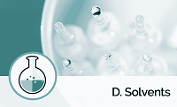 D. Solvents