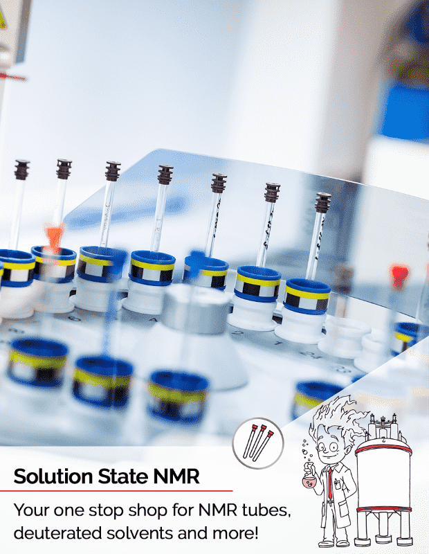 NMR consumables for liquid state NMR